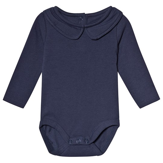 A Happy Brand Collar Baby Body Navy