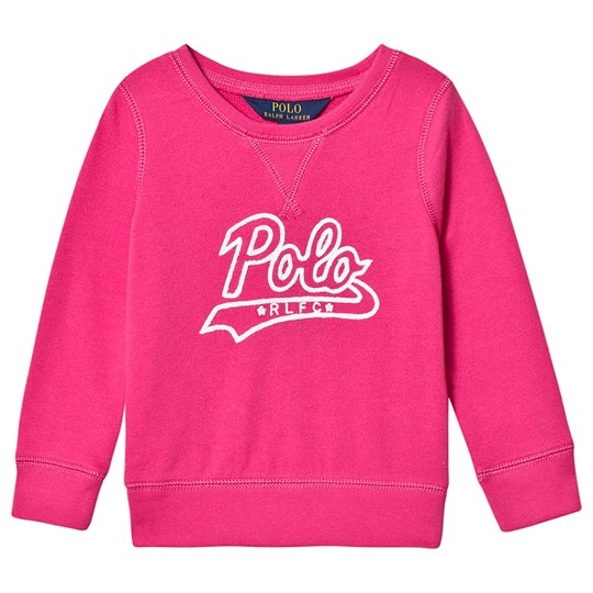 Ralph Lauren Polo Graphic Sweater Pink 002