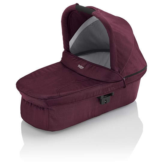 Britax Hard Carrycot Wine Red Denim Wine Red Denim