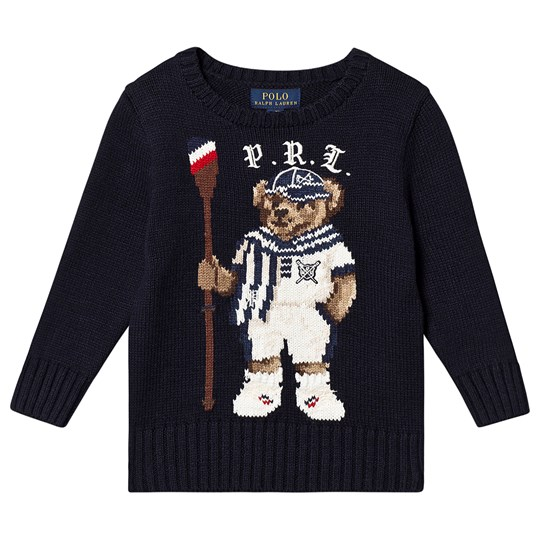 Ralph Lauren Bear Sweater Navy 001