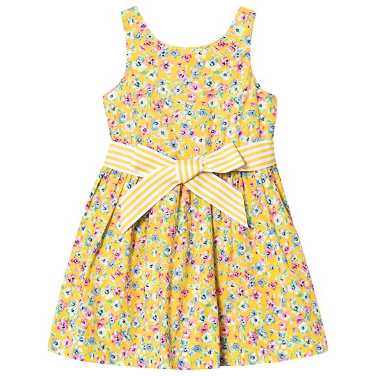 Ralph Lauren Floral Dress Yellow 002