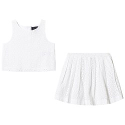 Ralph Lauren French Embroidery 2-Piece Set