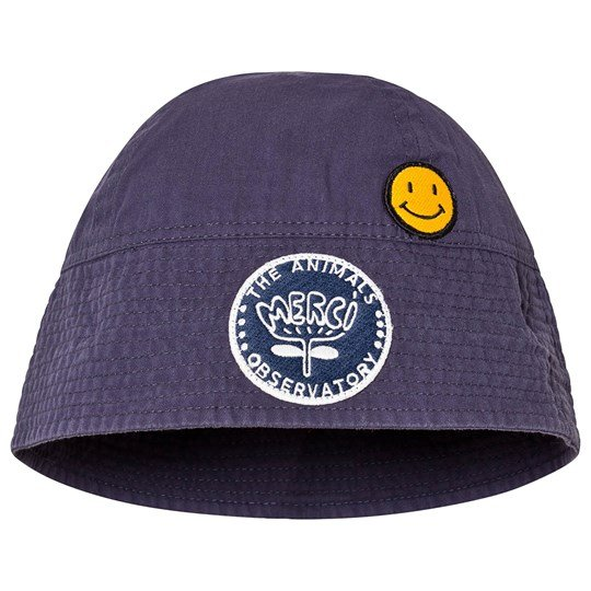 The Animals Observatory Starfish Kids Onesize Hat Navy Blue Navy Blue