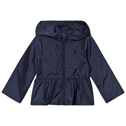 Ralph Lauren Navy Peplum Windbreaker Navy