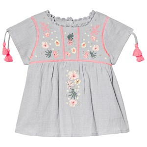 Image of Louise Misha Coconut Dress Silver Cloud 12 mdr (3125318727)