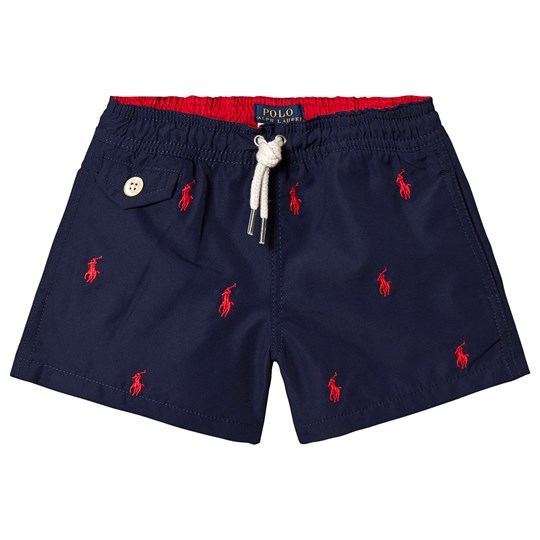 Ralph Lauren Navy Swim Shorts 002