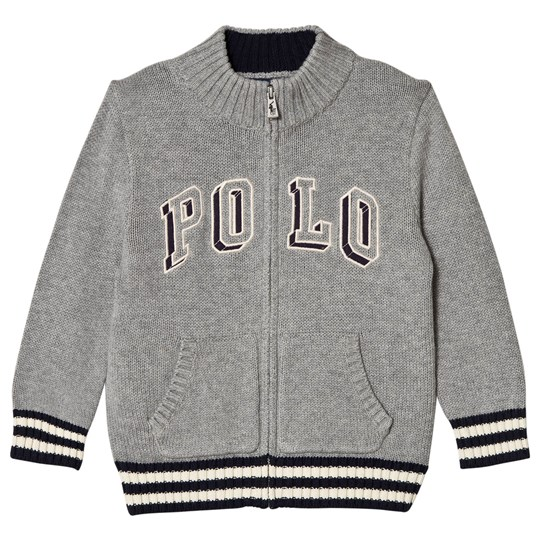 Ralph Lauren Grey Polo Jersey Jacket 001