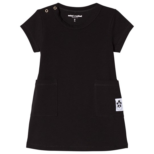 Mini Rodini Basic Dress Black Black