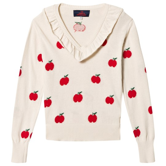 71f07034852 The Animals Observatory - Horsefly Kids Sweater Red Apple - Babyshop.com
