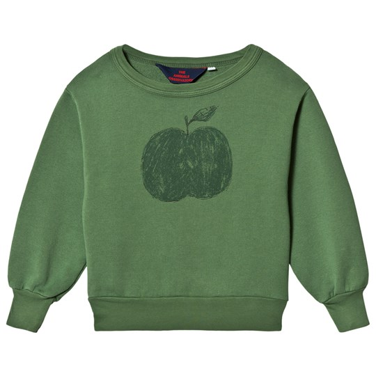The Animals Observatory Bear Sweatshirt Green Apple Green Apple