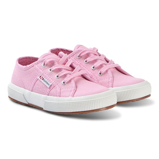 Superga Bright Pink Jcot Classic Canvas Shoes V28 BEGONIA PINK