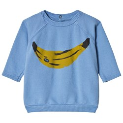 Bobo Choses Banana Sweatshirt Heritage Blue