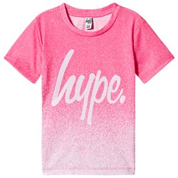 Hype Speckle Fade T-Shirt Pink