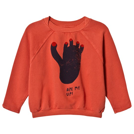 Bobo Choses Footprint Raglan Sweatshirt Spice Route Spice Route