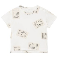 Tinycottons Tickets Tee Off-White/Stone