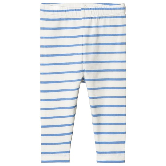 Tinycottons Small Stripes Pant Off-White/Cerulean Blue off-white/cerulean blue