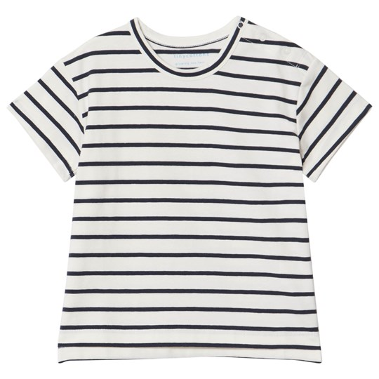 Tinycottons Small Stripes T-shirt Off-White/Navy off-white/navy