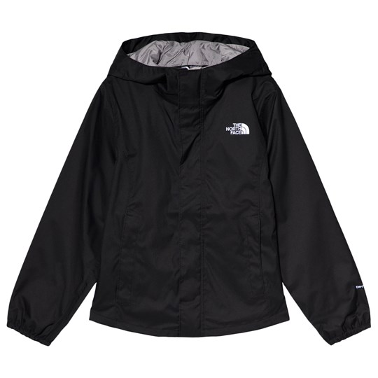 The North Face Black Resolve Relfective Waterproof Hooded Jacket JK3