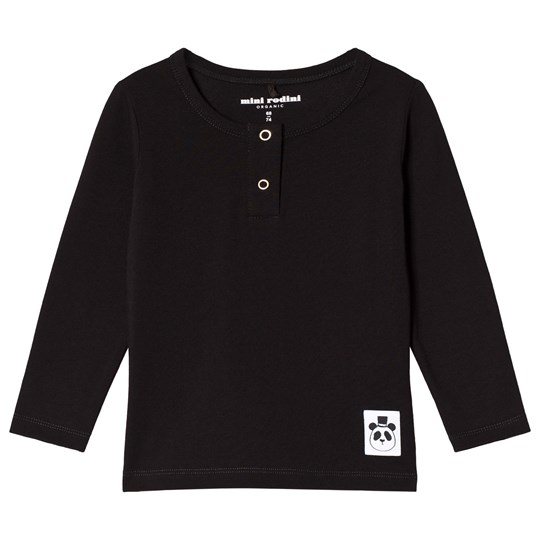 Mini Rodini Basic Grandpa Tröja Svart Black
