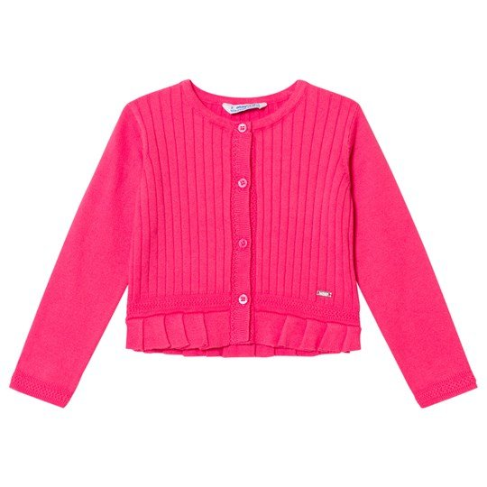 Mayoral Pink Ribbed Cardigan 71