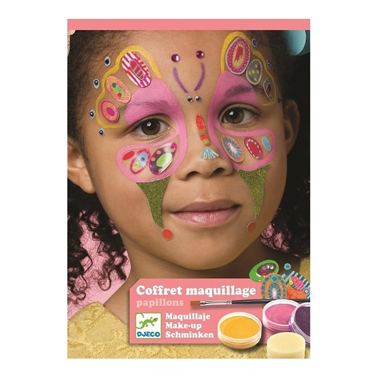 Djeco Butterfly Face Paint Kit Pink