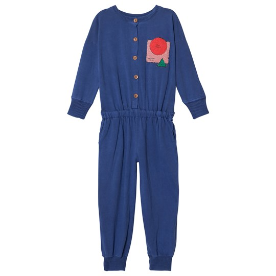 Bobo Choses Sun Jumpsuit Turkish Sea Turkish Sea