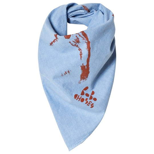 Bobo Choses Butterfly Scarf Heritage Blue Heritage Blue
