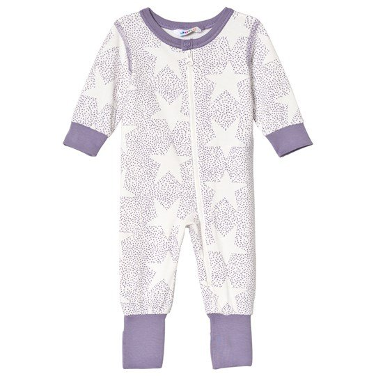 Joha Stars And Spots Baby One-Piece Purple Stars & Spots