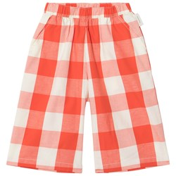 Tinycottons Huge Check Cool Pants Carmine/Stone
