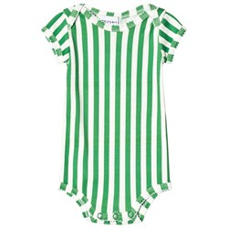 Wolf & Rita Baby Body Diogo Green Stripes