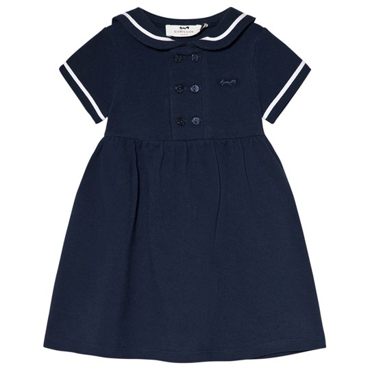 Cyrillus Navy Sailor Dress 6399