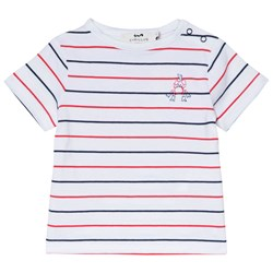 Cyrillus Red, Blue and White Crab T-Shirt