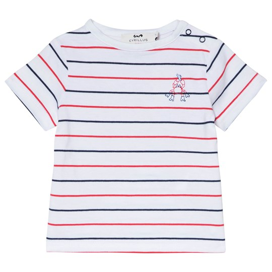 Cyrillus Red, Blue and White Crab T-Shirt 6348