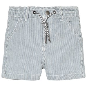 Image of Cyrillus Blue and White Stripe Shorts 6 months (2979333659)