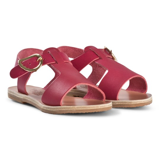 Ancient Greek Sandals Little Adonis Sandals Fuchsia Fuchsia