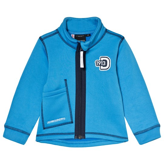 Didriksons Ljusnan Kids Jacket Sharp Blue Sharp Blue