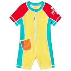 Didriksons Reef Swimming Suit Citron