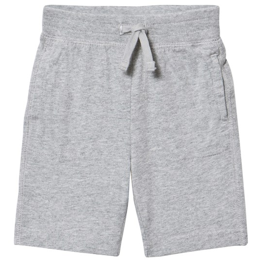 GAP Drawstring Shorts Grey Light Heather Grey B10
