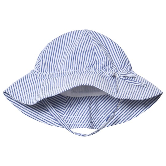 GAP Bicoastal Floppy Hat Blue and White Bicoastal Blue