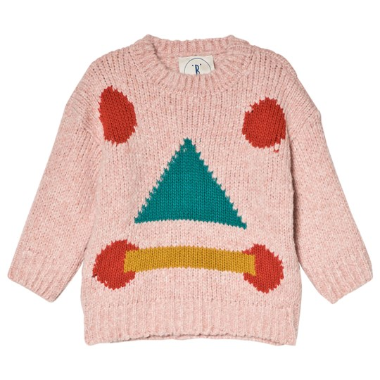 Bobo Choses Rudolph Jumper Day Sweater Misty Rose