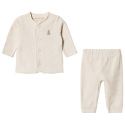 United Colors of Benetton Set Jacket + Trousers Cream