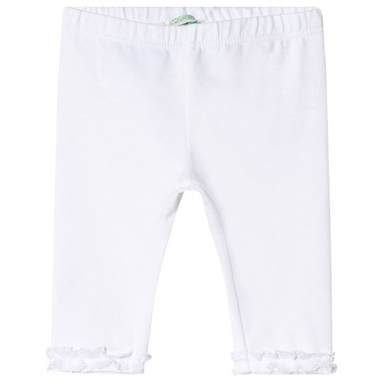 United Colors of Benetton Frill Leggings White White