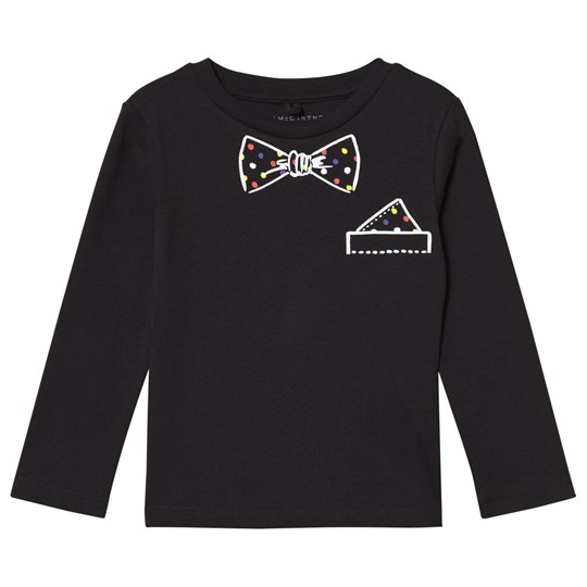 Stella McCartney Kids Black Gilet and Bow Print Barley Tee 1073
