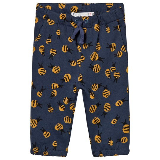 Stella McCartney Kids Navy Bubble Bees Loopie Sweatpants 4963