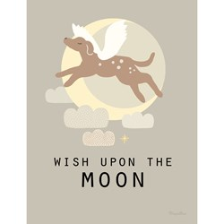 Majvillan Wish Upon the Moon Print 30 x 40