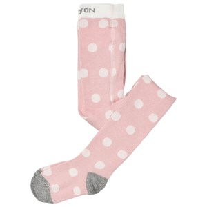 Image of Melton Pink Dotty Tights 56-62 (1117023)