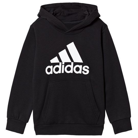 adidas Performance Branded Pull Over Huvtröja Svart Black