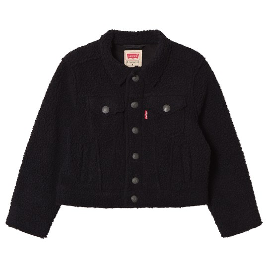 Levis Kids Black Trucker Jacket 02