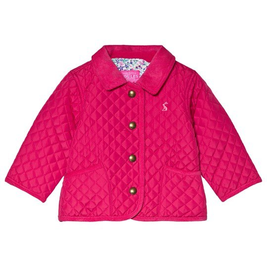 Tom Joule Pink Mabel Quilted Jacket TRUE PINK