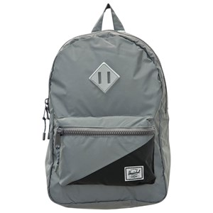 Image of Herschel Heritage Youth Backpack Silver/Black Reflective (3125274631)